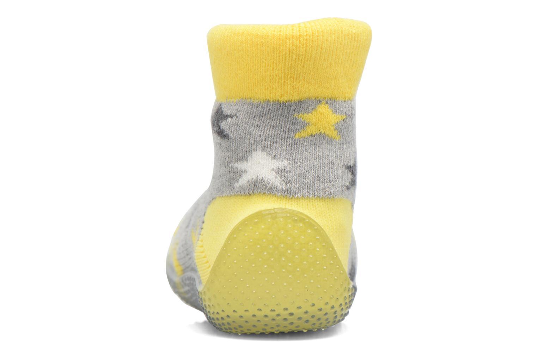 Sokken en panty's SARENZA POP Chaussons Chaussettes POP  Slippers Geel rechts