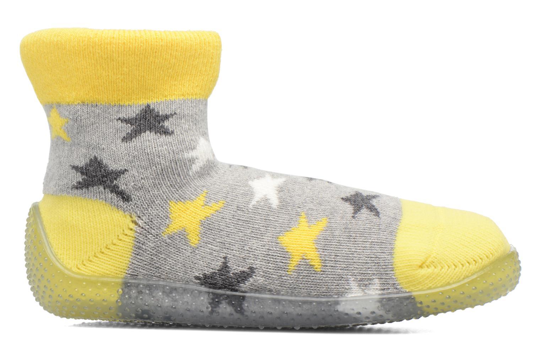 Sokken en panty's SARENZA POP Chaussons Chaussettes POP  Slippers Geel achterkant