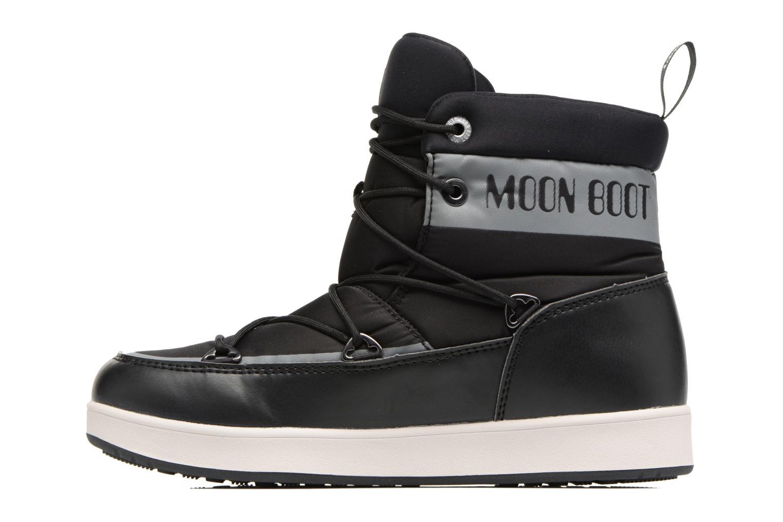 Zapatillas de deporte Moon Boot Neil W Negro vista de frente