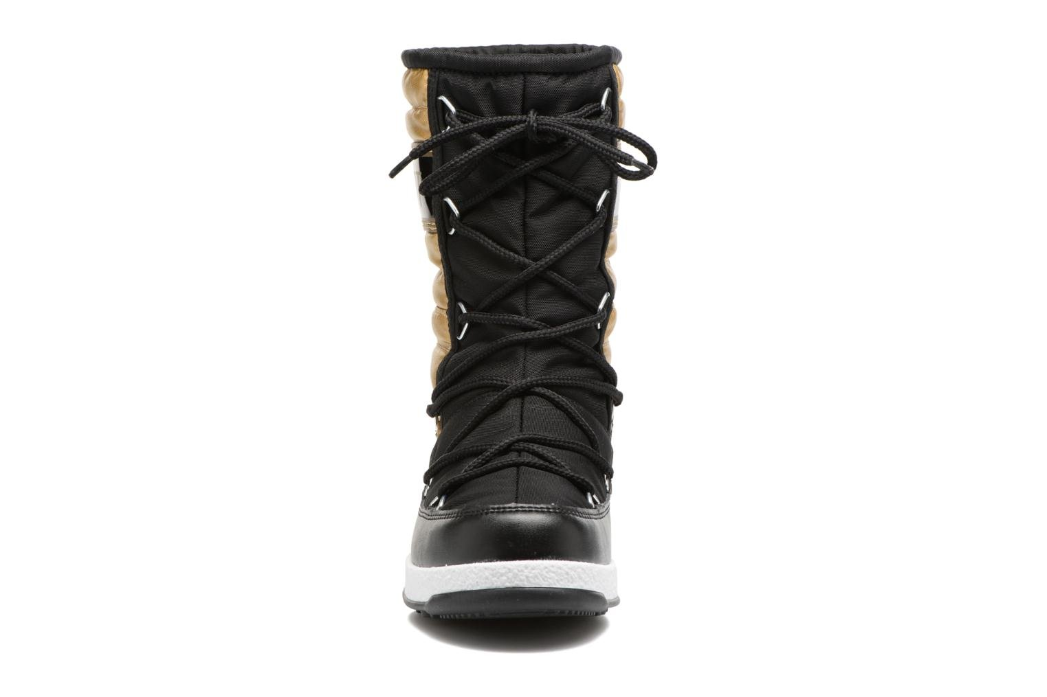 Moon Boot W.E. Quilted Met Jr Nero/Oro