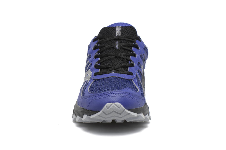 Chaussures de sport Saucony Excursion Tr11 Gtx Bleu vue portées chaussures
