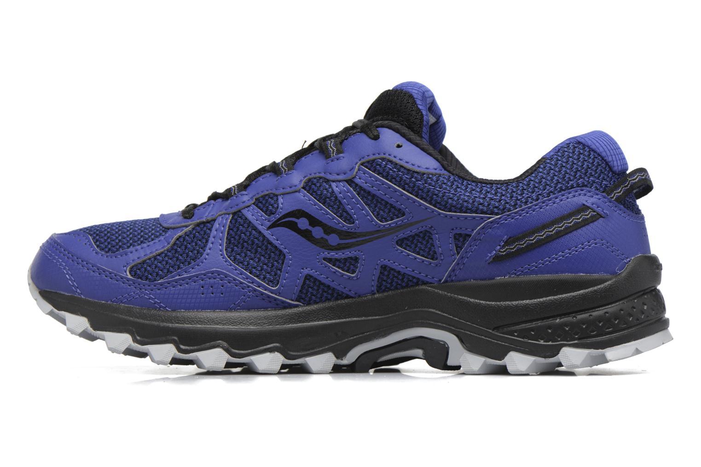 Chaussures de sport Saucony Excursion Tr11 Gtx Bleu vue face