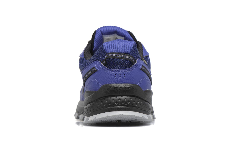 Chaussures de sport Saucony Excursion Tr11 Gtx Bleu vue droite