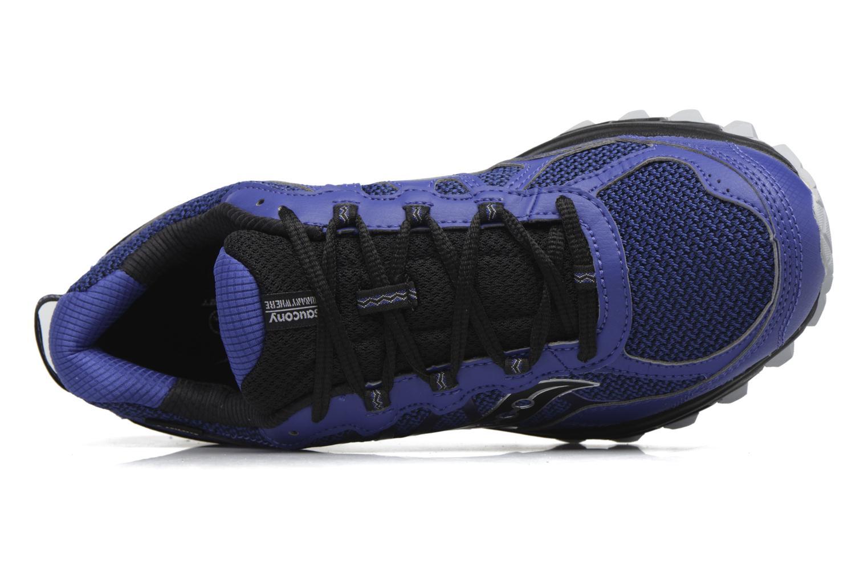Chaussures de sport Saucony Excursion Tr11 Gtx Bleu vue gauche