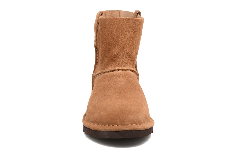 Bottines et boots UGG Classic Unlined Mini Marron vue portées chaussures