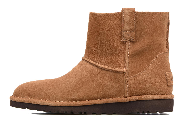 Bottines et boots UGG Classic Unlined Mini Marron vue face