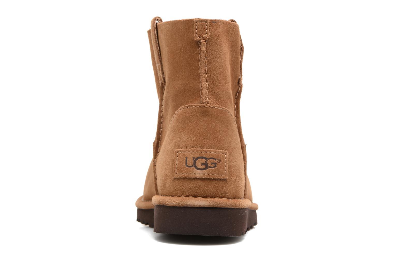 Bottines et boots UGG Classic Unlined Mini Marron vue droite