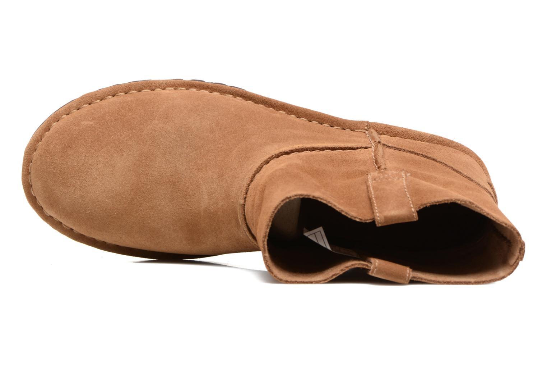 Bottines et boots UGG Classic Unlined Mini Marron vue gauche
