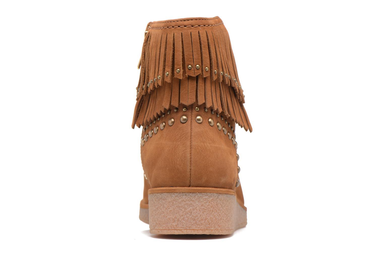 Bottines et boots UGG Ariane Marron vue droite