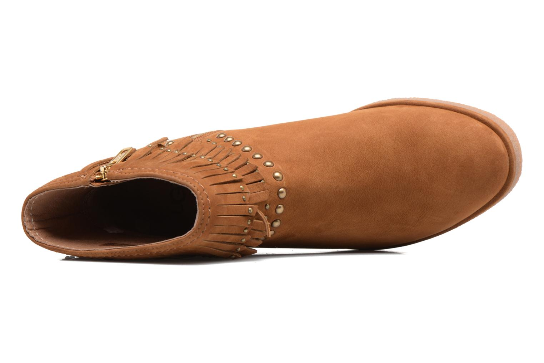 Bottines et boots UGG Ariane Marron vue gauche