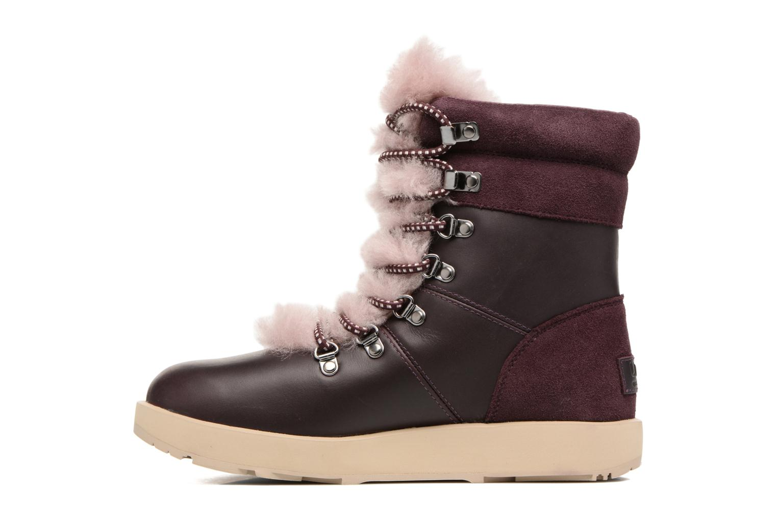 Bottines et boots UGG Viki Waterproof Bordeaux vue face