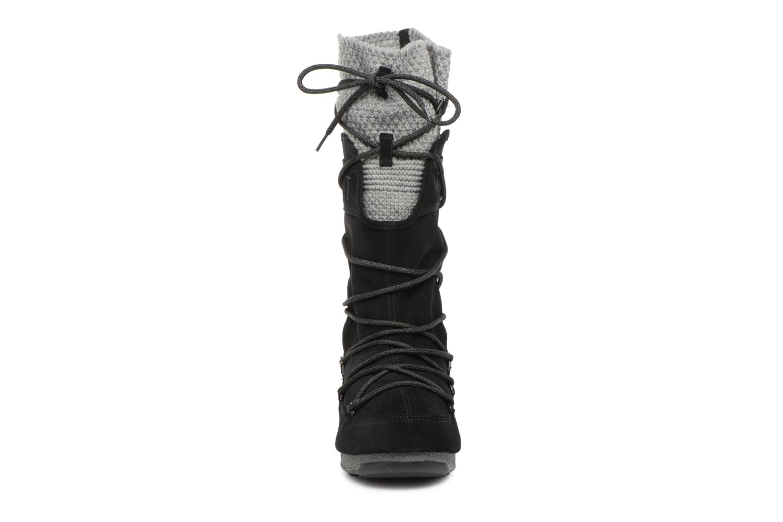 Sport shoes Moon Boot anversa wool Black model view