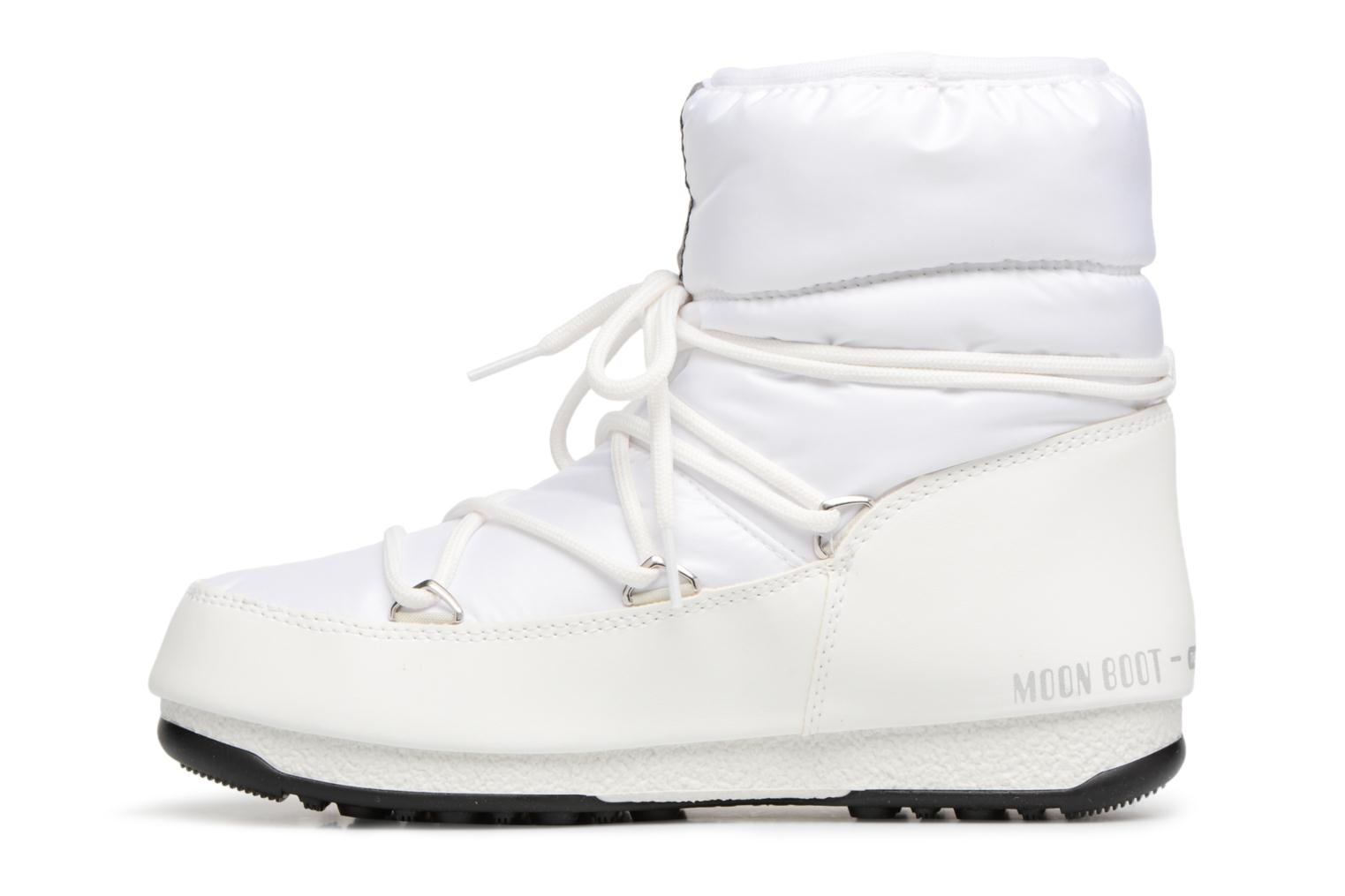 Chaussures de sport Moon Boot Low Nylon Blanc vue face