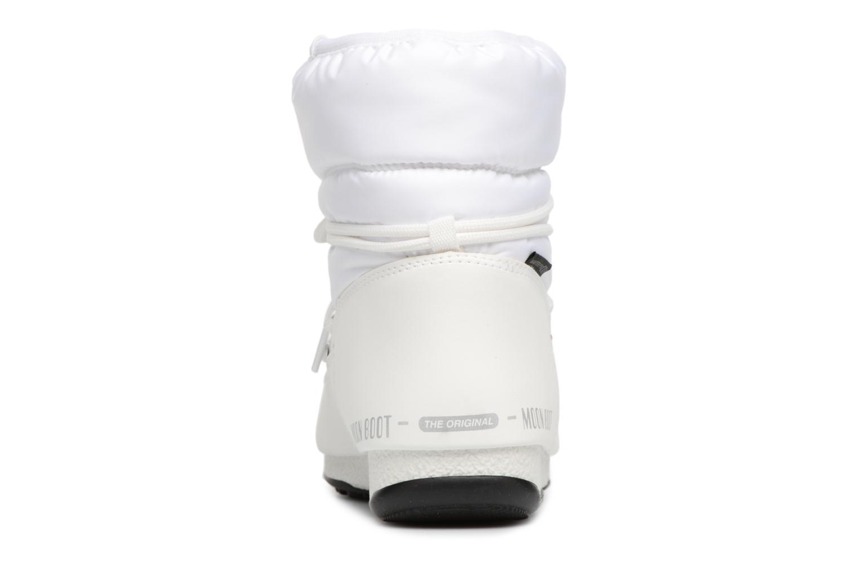 Chaussures de sport Moon Boot Low Nylon Blanc vue droite