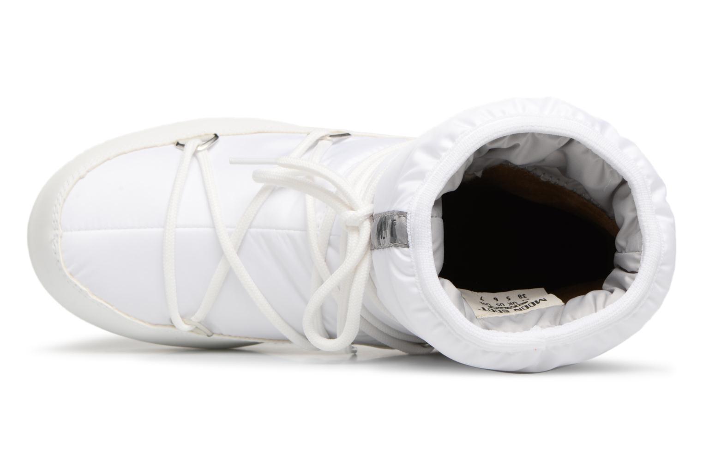 Chaussures de sport Moon Boot Low Nylon Blanc vue gauche