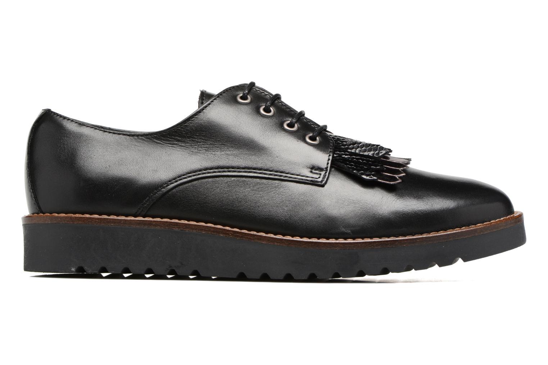 Chaussures à lacets Georgia Rose Guitou Noir vue derrière