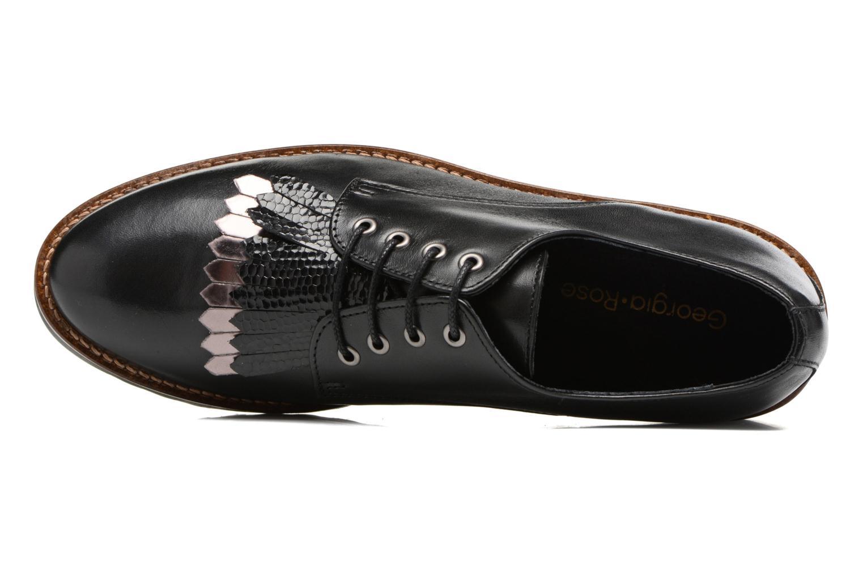 Chaussures à lacets Georgia Rose Guitou Noir vue gauche