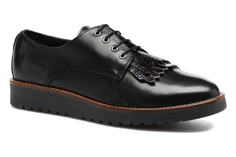 Chaussures à lacets Georgia Rose Guitou Noir vue détail/paire