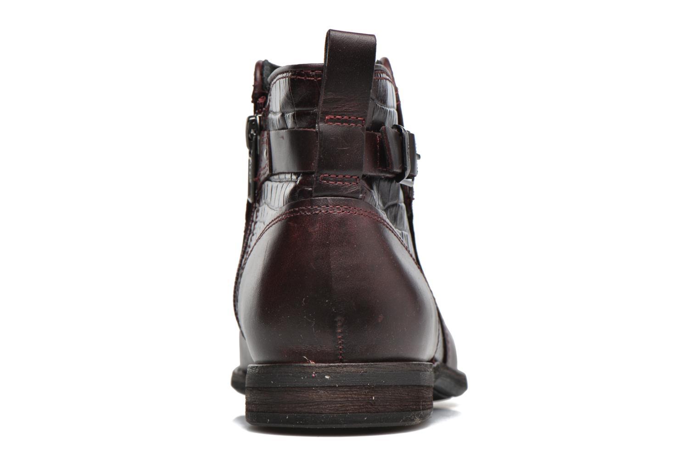 Bottines et boots UGG Demi Croc Bordeaux vue droite