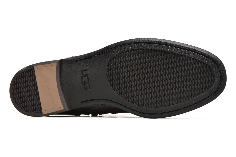 Bottines et boots UGG Demi Croc Bordeaux vue haut
