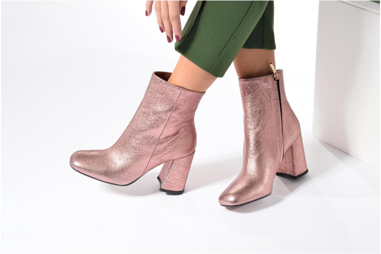 Bottines et boots Jonak Crave Rose vue bas / vue portée sac