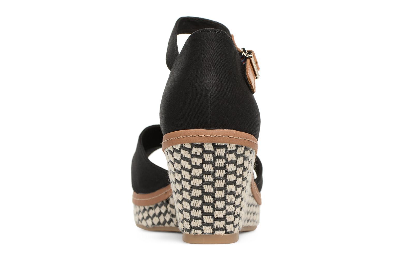 Sandales et nu-pieds Tommy Hilfiger ICONIC ELBA SANDAL BASIC Noir vue droite