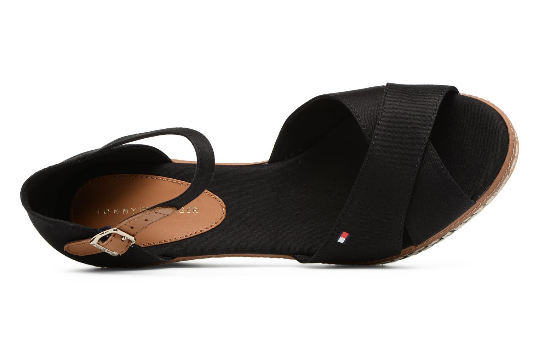 Sandales et nu-pieds Tommy Hilfiger ICONIC ELBA SANDAL BASIC Noir vue gauche