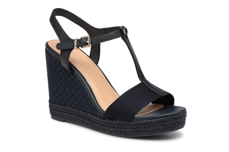 Zapatos promocionales Tommy Hilfiger ICONIC ELENA POP COLOR (Azul) - Alpargatas   Gran descuento