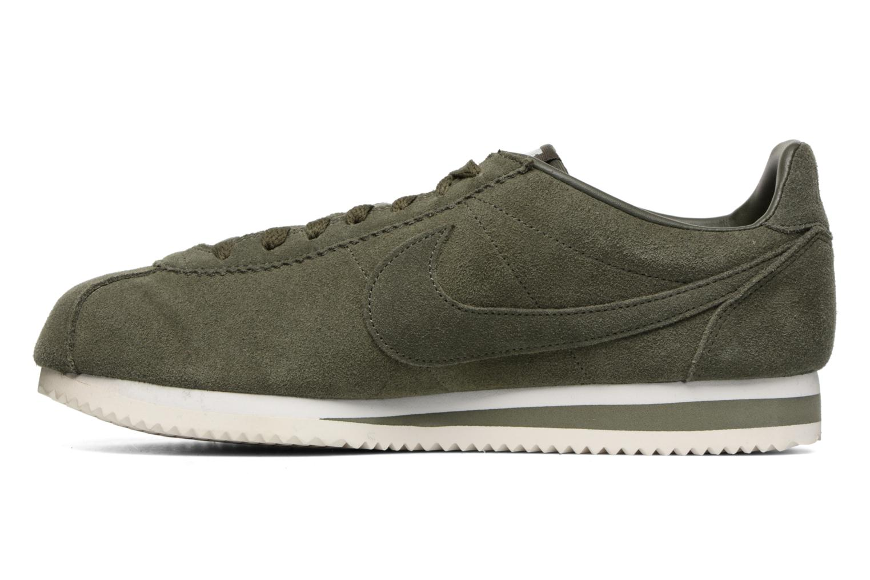 Deportivas Nike Classic Cortez Se Verde vista de frente