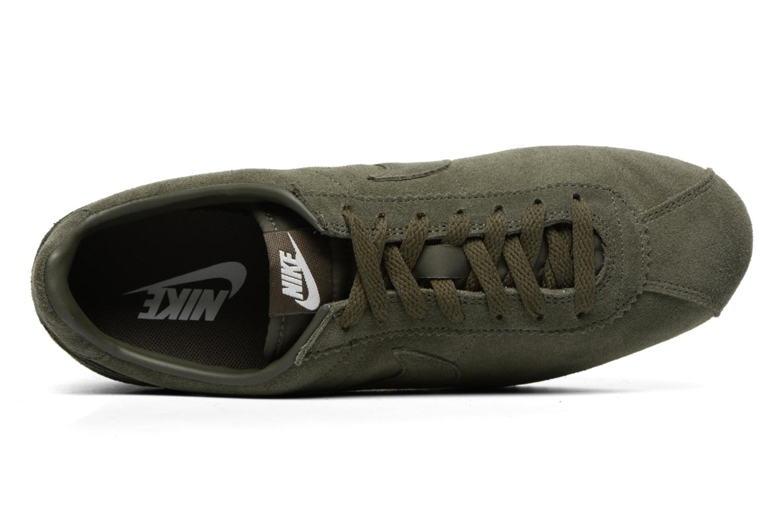 Deportivas Nike Classic Cortez Se Verde vista lateral izquierda