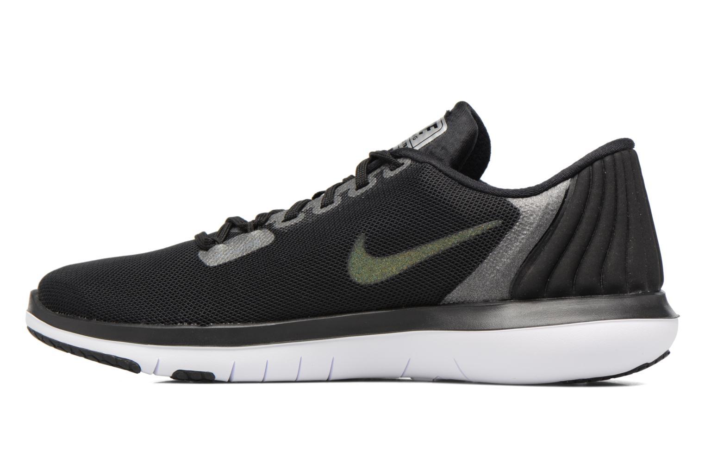 Scarpe sportive Nike W Nike Flex Supreme Tr 5 Mtlc Grigio immagine frontale