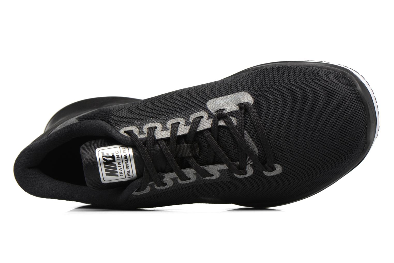 Scarpe sportive Nike W Nike Flex Supreme Tr 5 Mtlc Grigio immagine sinistra