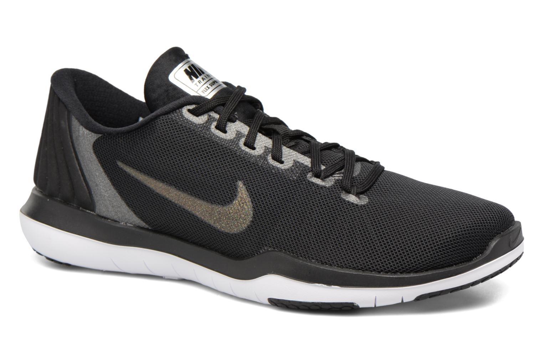 Chaussures de sport Nike W Nike Flex Supreme Tr 5 Mtlc Gris vue détail/paire