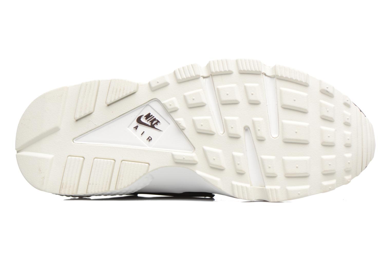 Baskets Nike Wmns Air Huarache Run Prm Txt Bordeaux vue haut