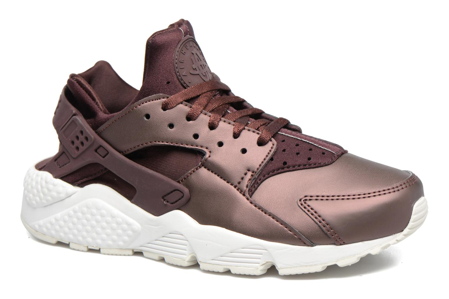 Wmns Air Huarache Run Prm Txt Mahogany/Mtlc Mahogany-Summit White