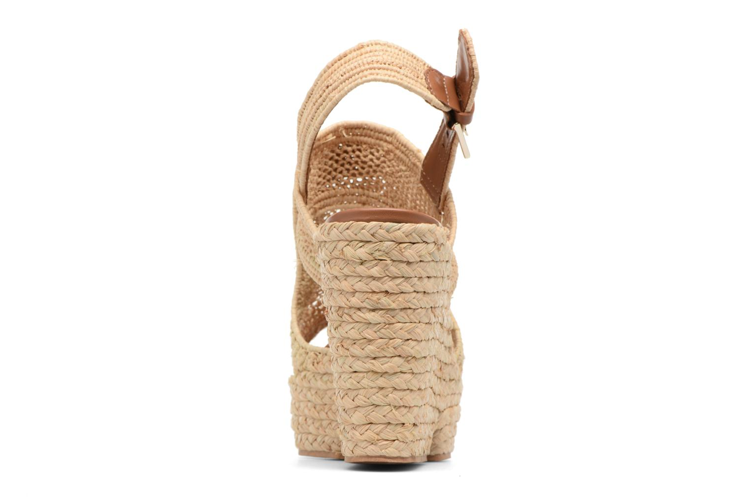 Sandals Clergerie DYPAILLE Beige view from the right