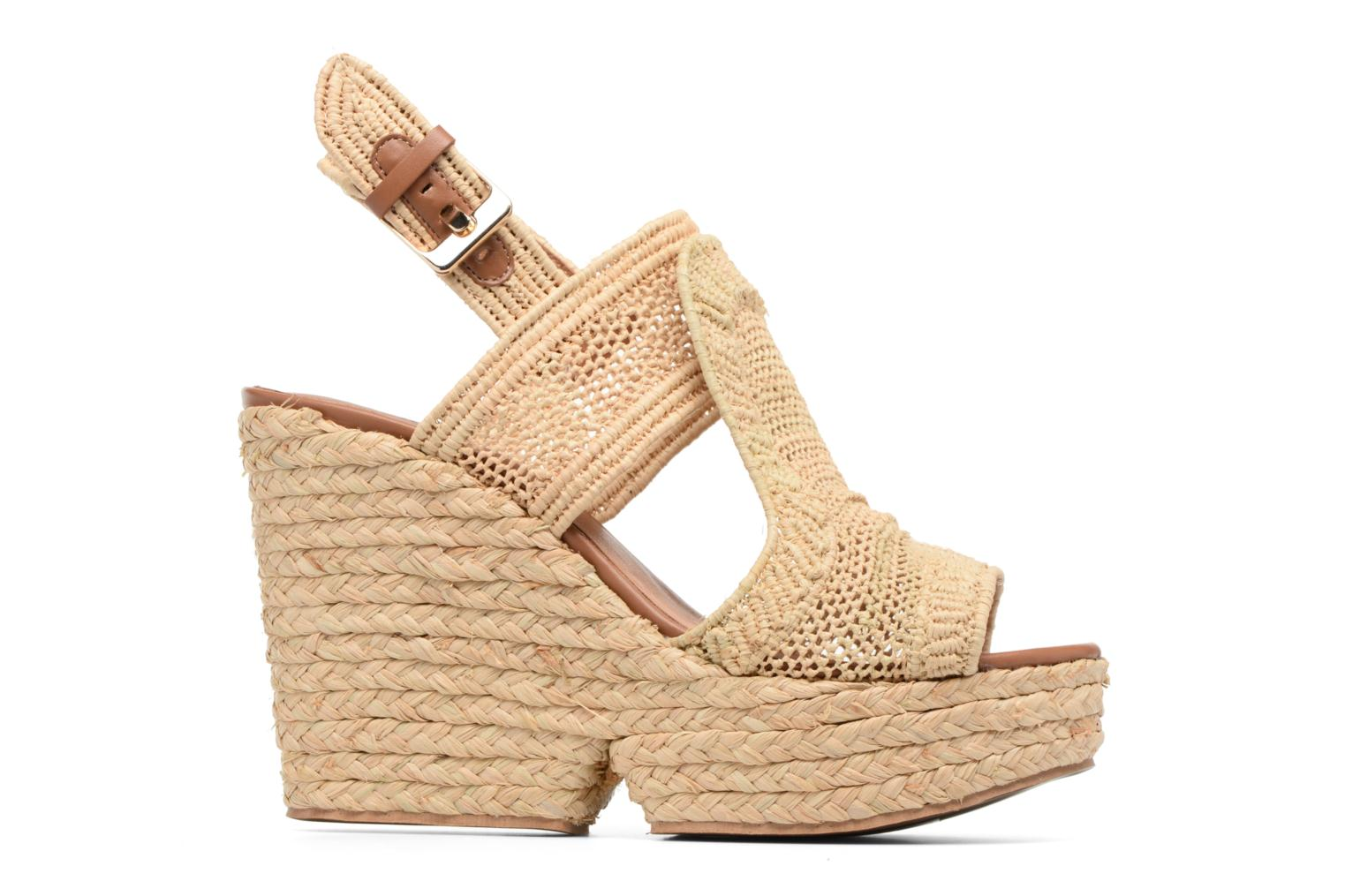 Sandals Clergerie DYPAILLE Beige back view