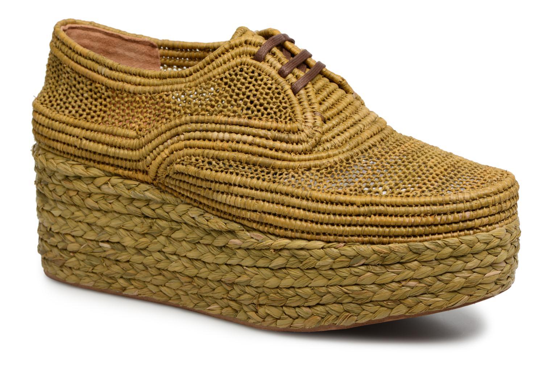 Grandes descuentos últimos zapatos Clergerie POLLUX (Verde) - Zapatos con cordones Descuento