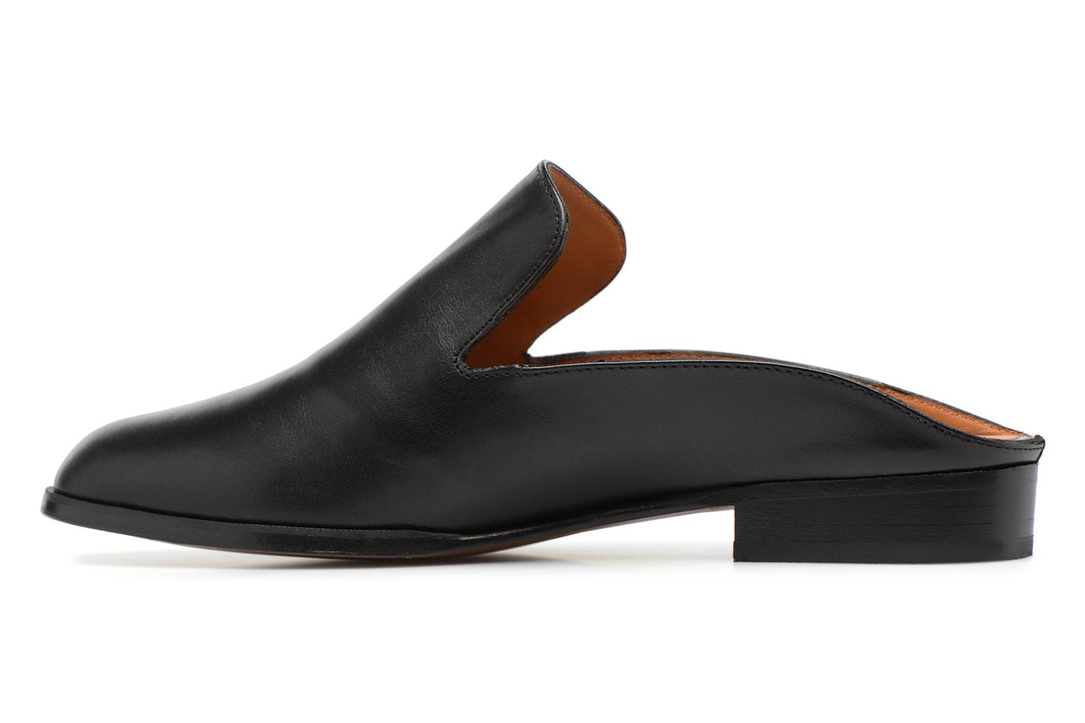 Mules & clogs Clergerie ALICEO Black front view