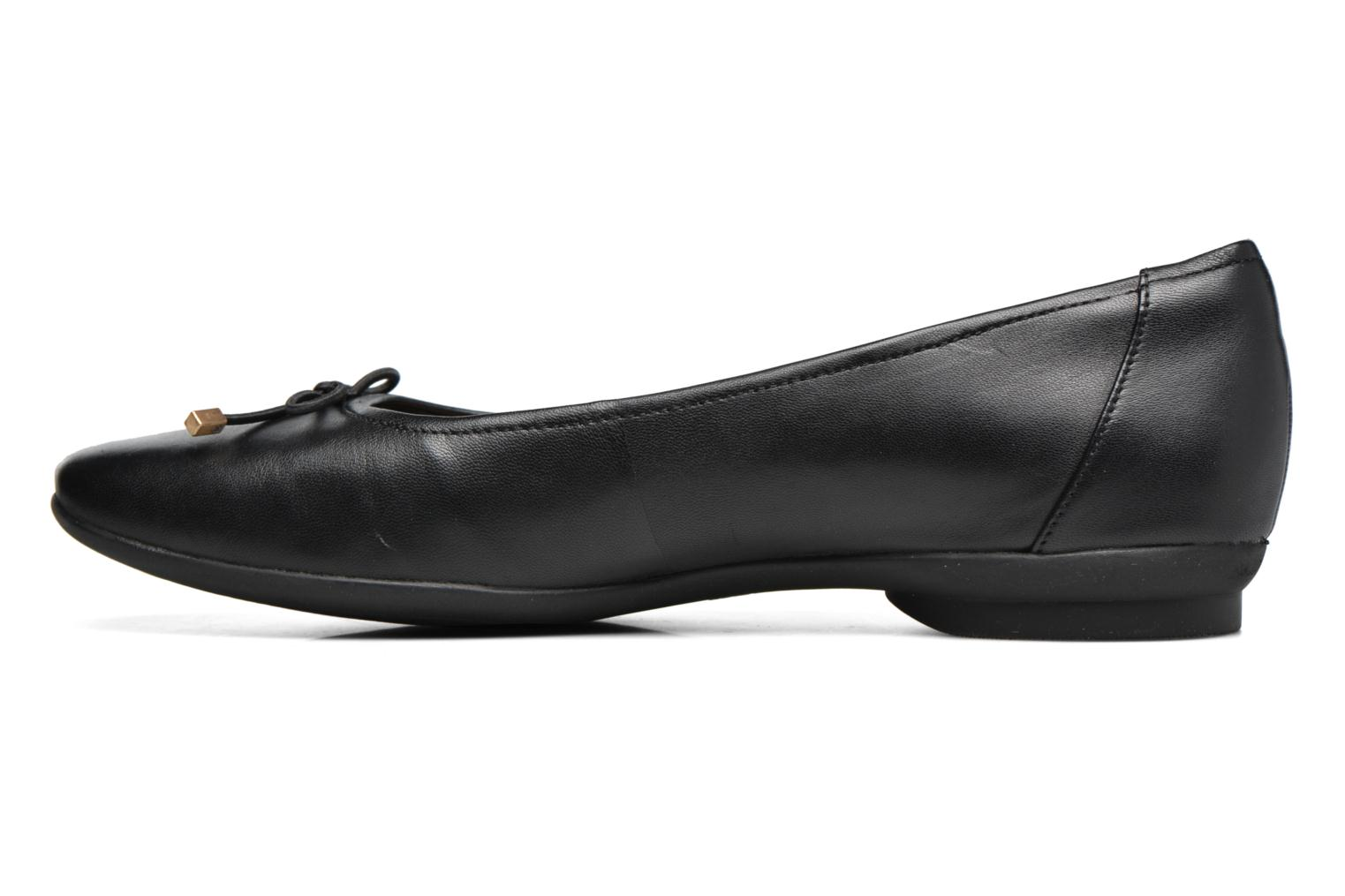 Ballet pumps Clarks Candra light Black front view