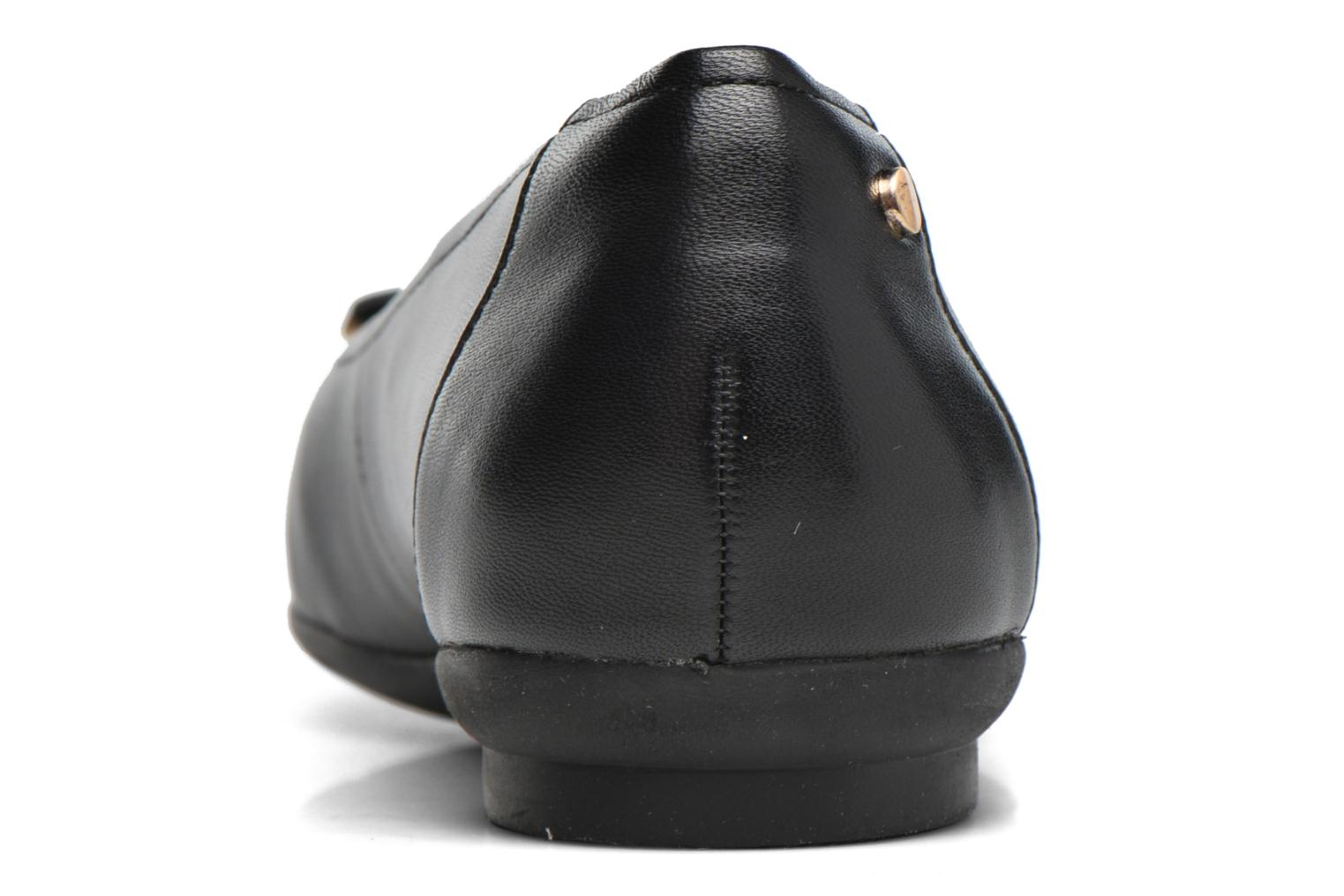 Ballet pumps Clarks Candra light Black view from the right