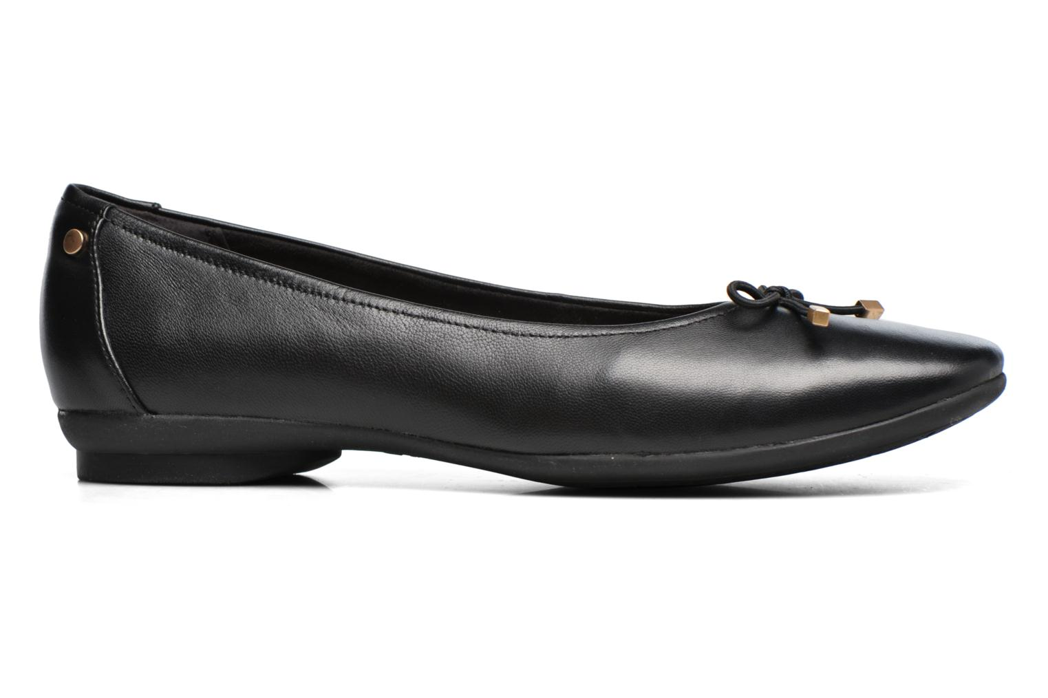 Ballet pumps Clarks Candra light Black back view
