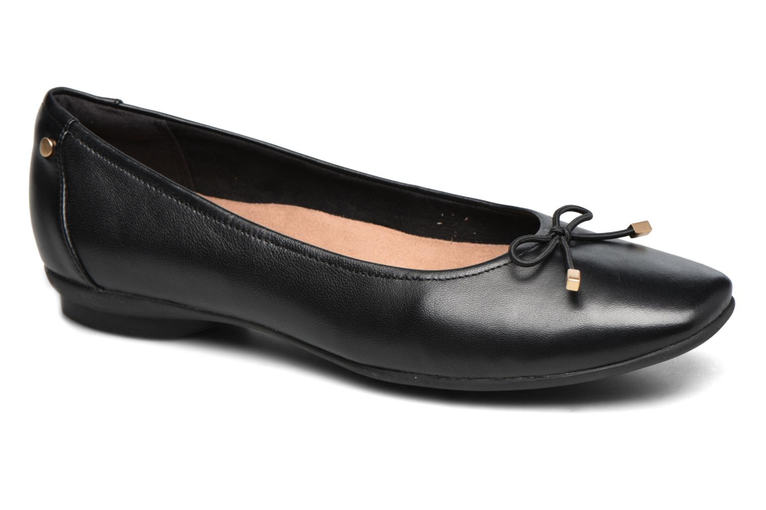 Ballet pumps Clarks Candra light Black detailed view/ Pair view