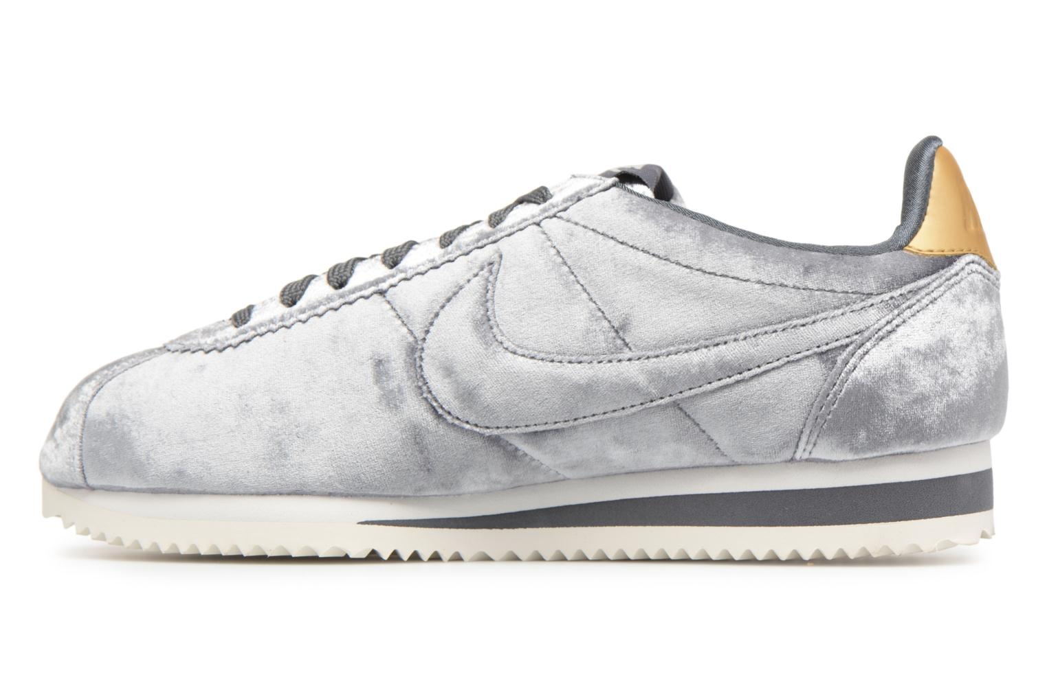 Trainers Nike Cortez Velvet Grey front view