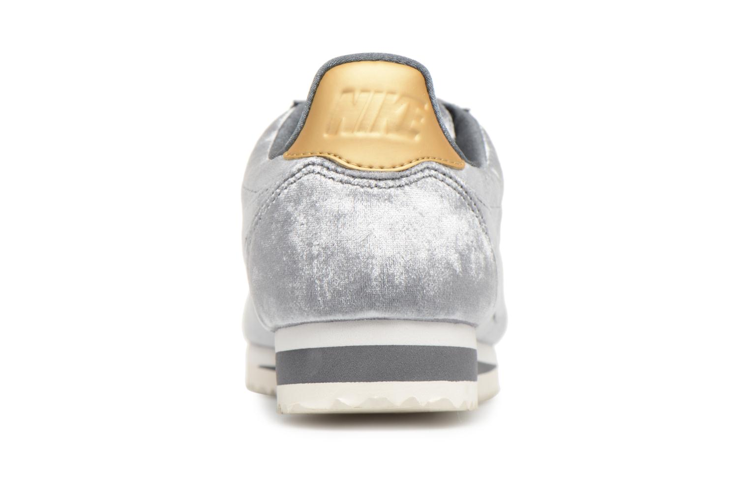 Trainers Nike Cortez Velvet Grey view from the right