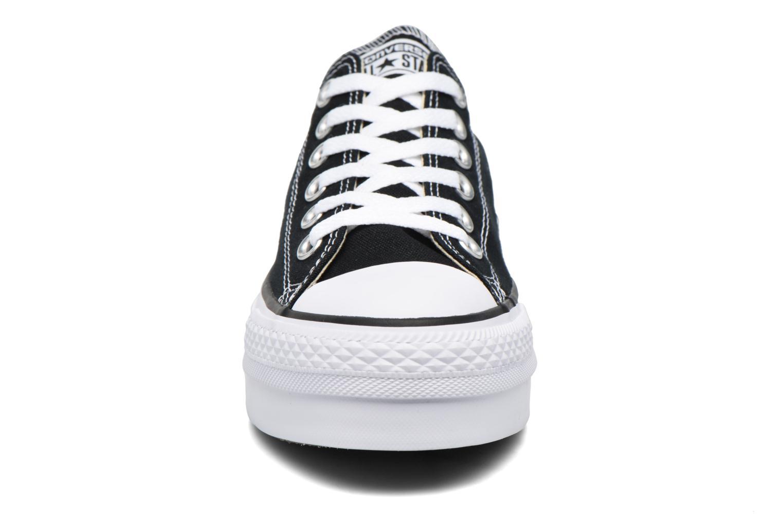 Baskets Converse Chuck Taylor Platform OX Noir vue portées chaussures
