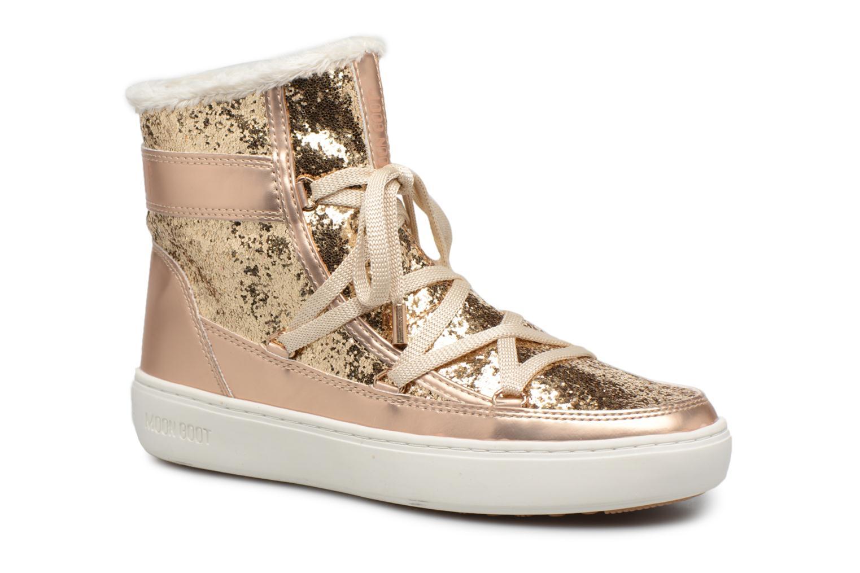 Moon Boot Moon Boot Pulse Z.Glitter (Or et bronze) - Bottines et boots chez Sarenza (311851)