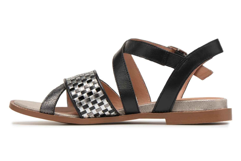 Sandals Karston Sodal Black front view