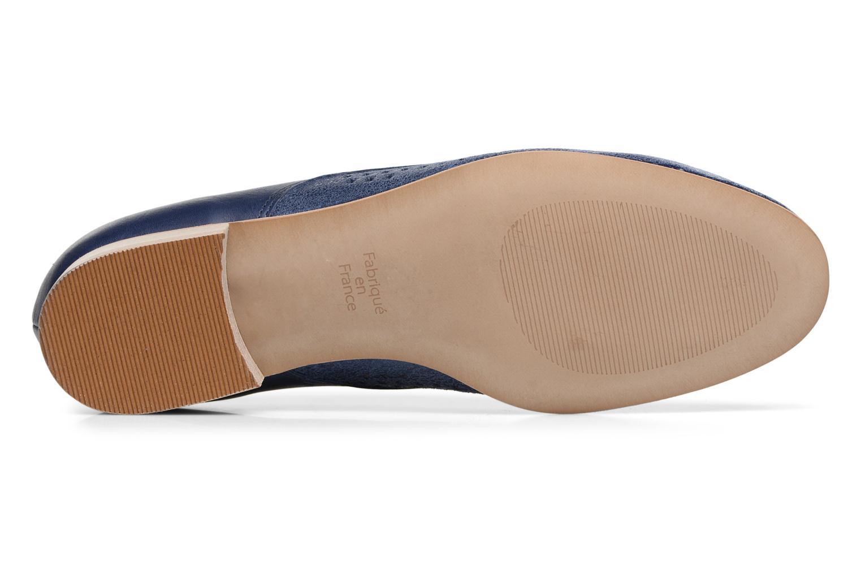 Chaussures à lacets Karston Joie Bleu vue haut