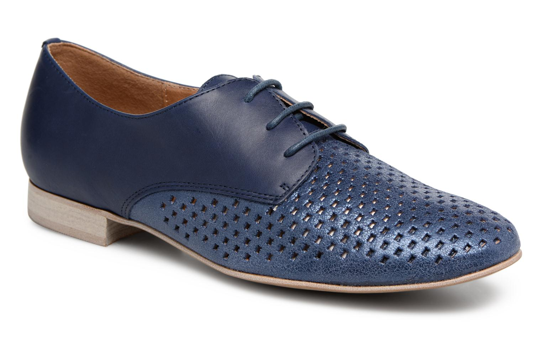 Chaussures à lacets Karston Joie Bleu vue détail/paire